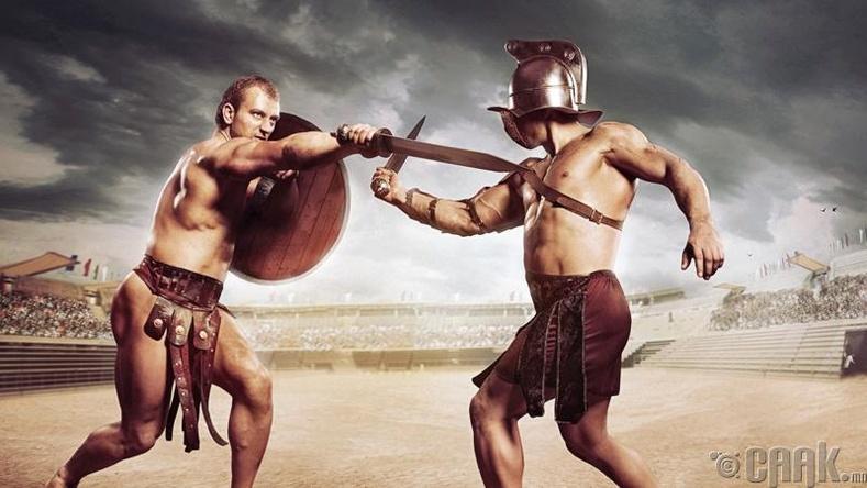 Гладиаторууд өөр өөр төрөл, ангилалд хуваагддаг байсан.