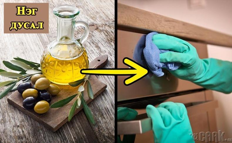 Чидуун жимсний тосыг тавилга өнгөлөхөд ашиглах