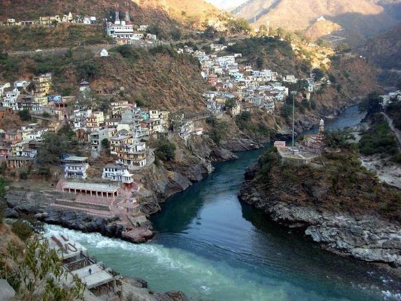 Алакнанда болон Бхагиратхи гол