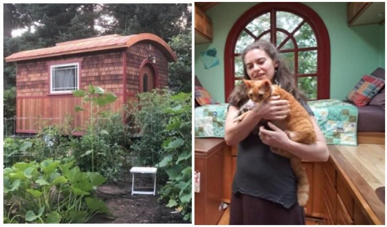 9 метр квадрат талбайтай байшинг мөрөөдлийн гэр болгон өөрчилсөн бүсгүй