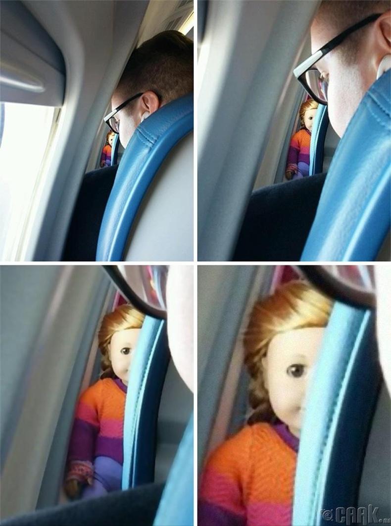 """Аннабэлл """"Annabelle"""" хүүхэлдэй энэ онгоцонд сууж явна"""