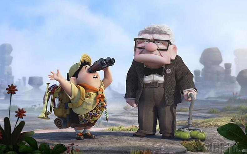 """""""Up"""" киноны Карл маш зөрүүд байсан учраас байшинтайгаа адилхан дөрвөлжин царайтай болжээ"""