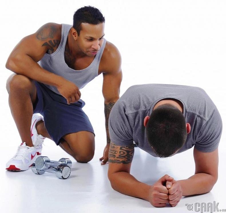 Булчингаа хөгжүүл