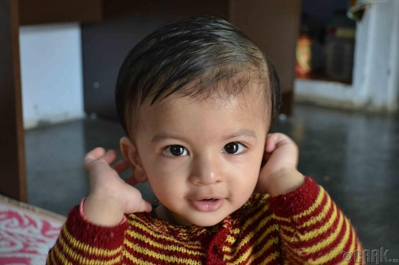 Нэр нь тодорхой бус (Энэтхэг) - 6 нас 7 сартайдаа ээж болсон
