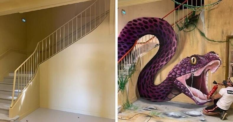 Францын хамгийн авьяаслаг 3D зураачийн бүтээлүүдээс...