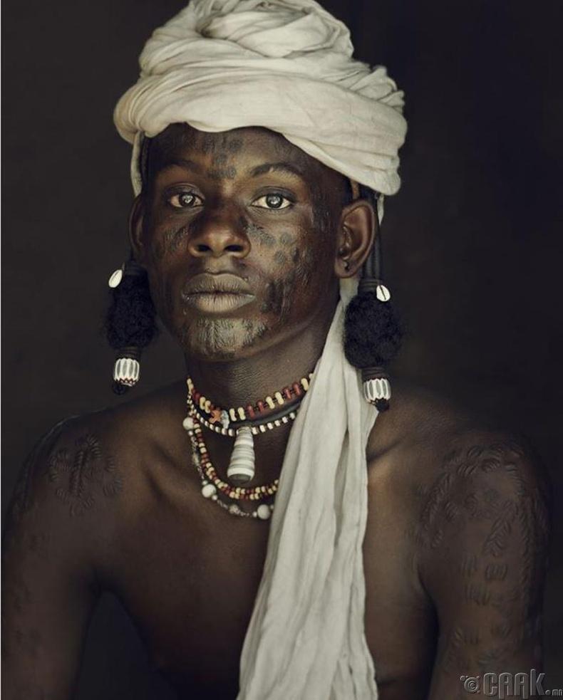 Нигерийн Водаабе овгийн бөө