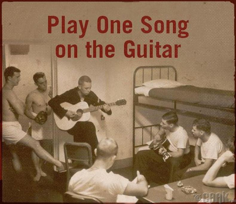 Гитар тоглох