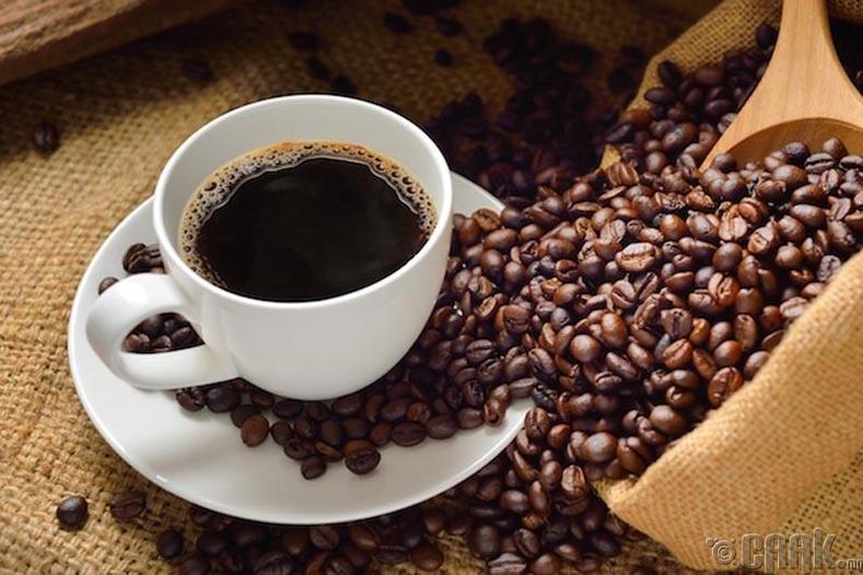 Тогтмол кофе уух