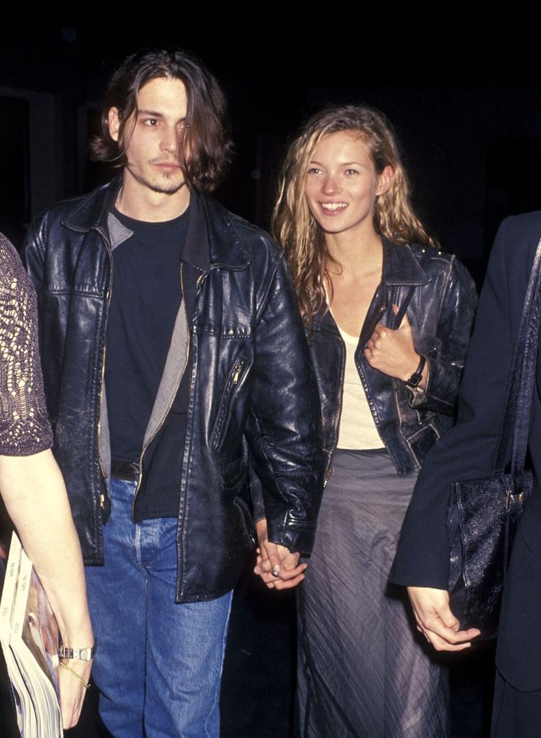Жонни Депп болон Кейт Мосс, 1994 он.