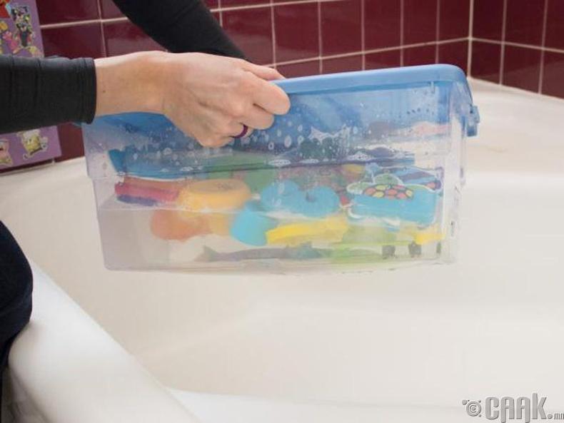 Тоглоомнуудаа хэрхэн угаах вэ?