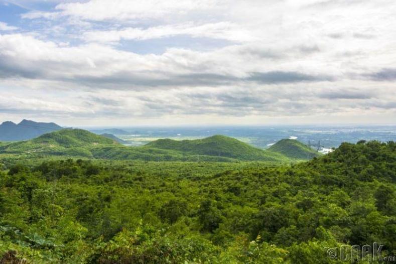 Хойд нутгийн ойн бүс, Мьянмар