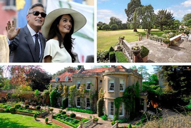 Жорж Клуни - 10 сая ам.долларын үнэтэй эдлэн