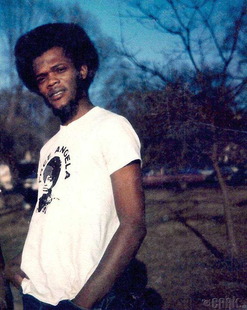 21 настай Сэмюэл Л. Жексон, 1969 он