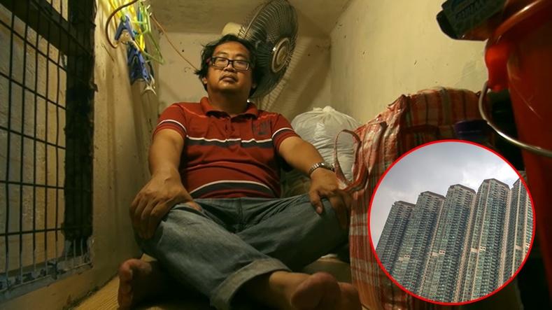 """Хонконгийн """"шоргоолжны үүрэн"""" байрнуудад амьдрал хэрхэн өрнөдөг вэ?"""