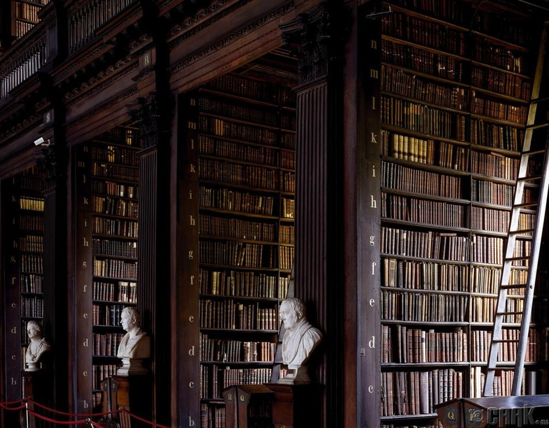 Тринити коллежийн номын сан, Дублин, Ирланд