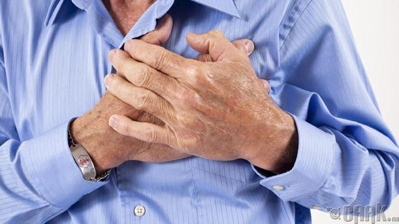 Зүрхний өвчин тусах магадлалыг бууруулна