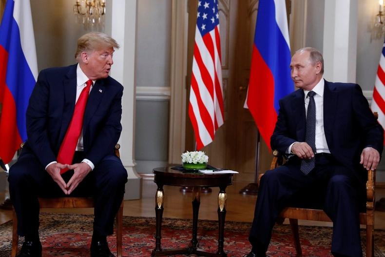 ОХУ-ын ерөнхийлөгч Владимир Путинтай уулзав (2018 оны долдугаар сар)