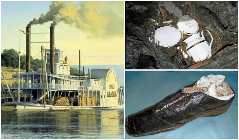 Мөрний усанд живсэн хөлөг онгоц 132 жилийн дараа газар дороос бүтнээрээ олдсон түүх