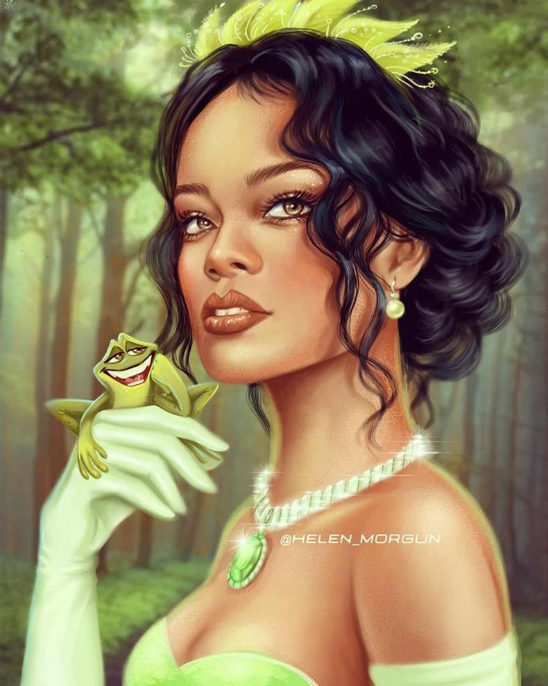Рианна Тианагийн дүрд (The Princess and the Frog)