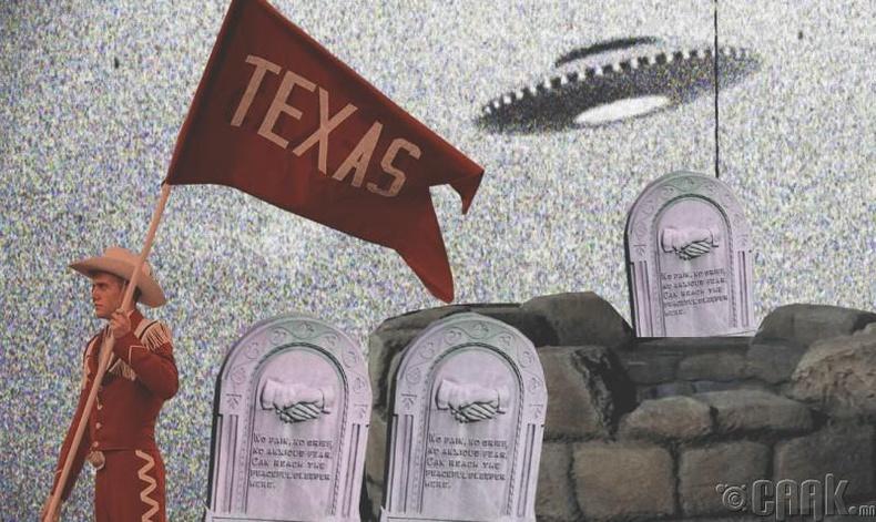 1897 он: Техасын нисдэг биет