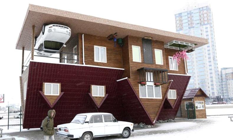 Дэлхийн хамгийн өвөрмөц байшингууд