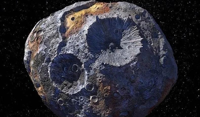 Тэр чигтээ үнэт эрдэнээс бүтсэн солир руу НАСА судалгааны хөлөг илгээхээр болжээ