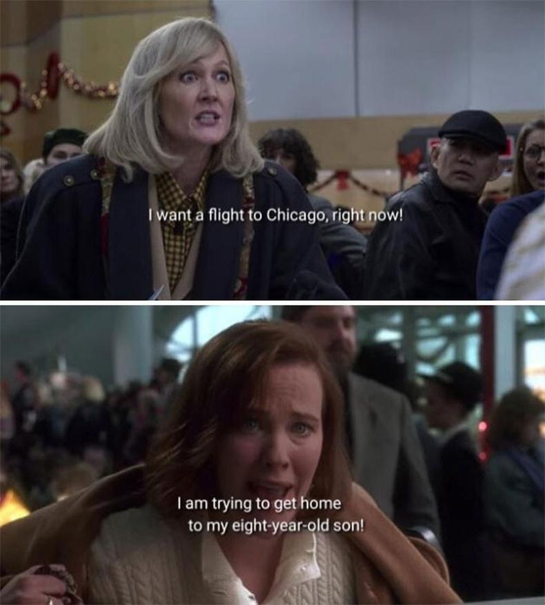 """2020 оны """"Christmas Chronicles 2"""" кинонд Кейт МакКаллистерын үзэгдэлтэй ижил хэсэг гардаг."""
