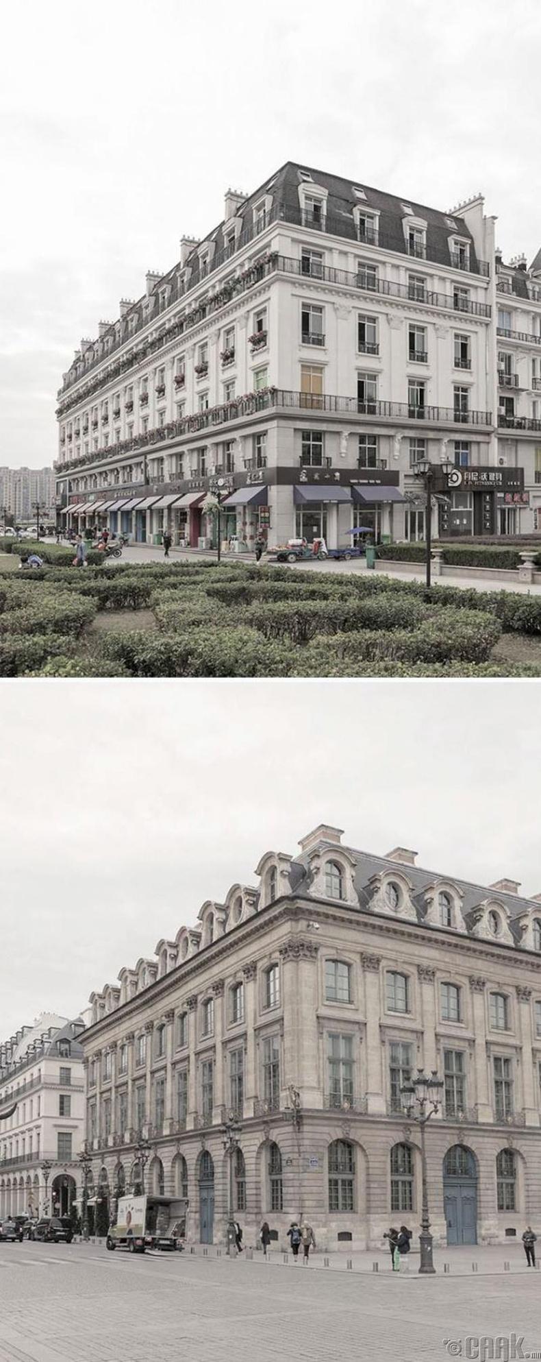 Хятадууд харин ногоон байгууламжийг Парисаас илүү бий болгожээ