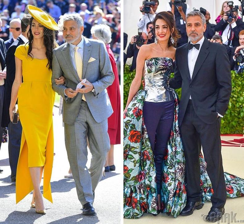 Жорж Клүни болон Амал Клүни (George, Amal Clooney)