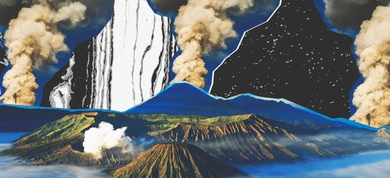 Индонезийн Тоба галт уулын дэлбэрэлт
