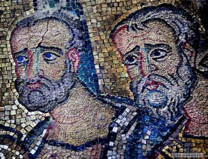 Израилын Базилик дахь Христийн мэндэлсний нууцлаг мозаик