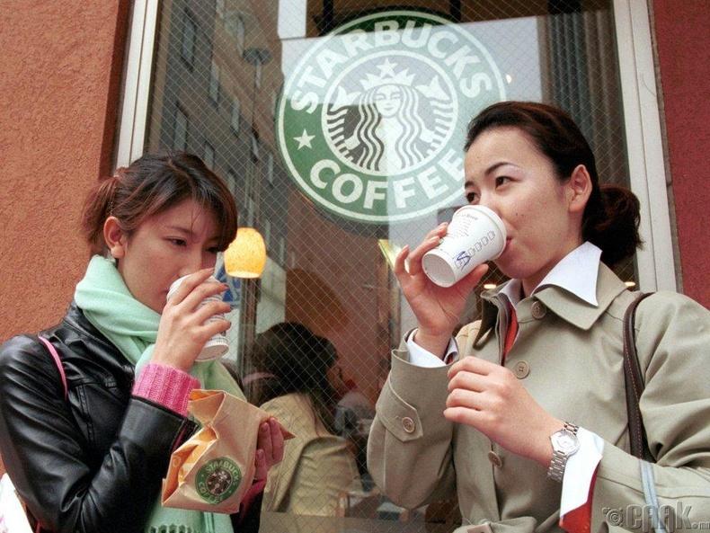 Өдөрт найман аяга кофе...