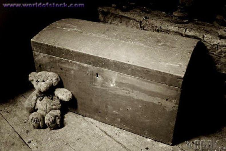 Хараалтай хайрцаг