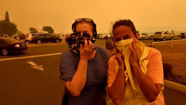 """""""Дэлхийн төгсгөл мэт"""" - Австралид дэгдсэн түймрийн бодит дүр зургууд"""