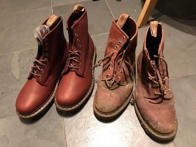 Шинэ ба хуучин гутал