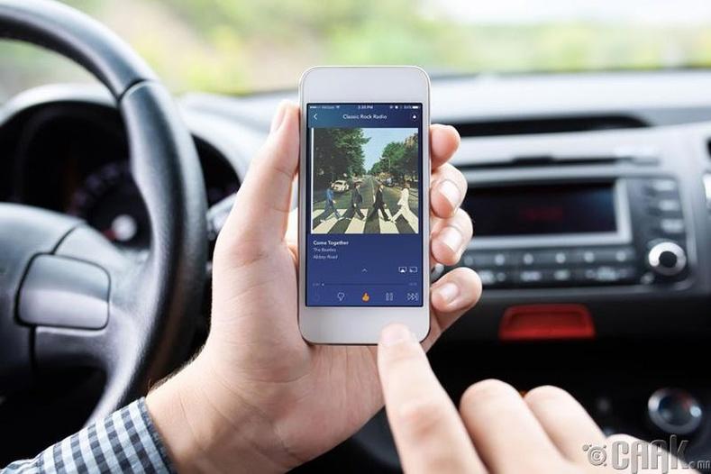 Канадад Америкийн утасны радио хөгжмийн аппликейшн ажилладаггүй