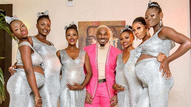 Нигери эр хөл хүнд 6 эхнэрийнхээ хамт хуриманд ирж, зочдыг алмайруулжээ