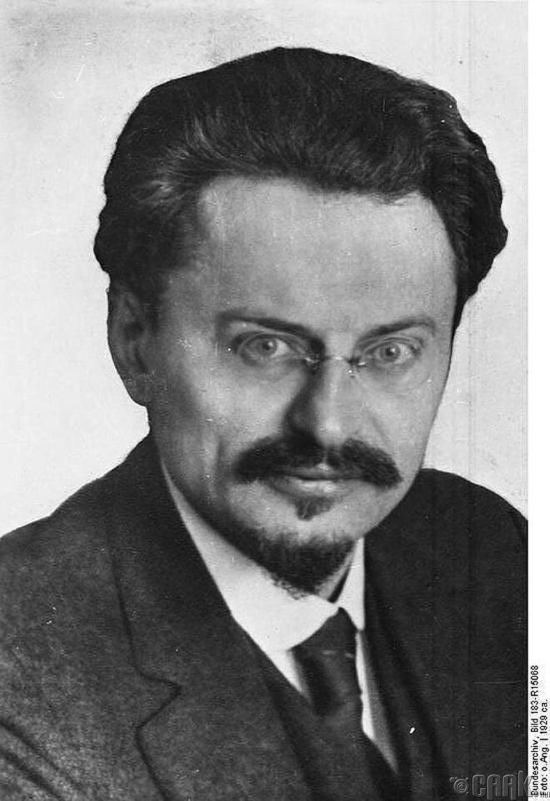 Лев Троцкий - Лев Давидович Бронштейн