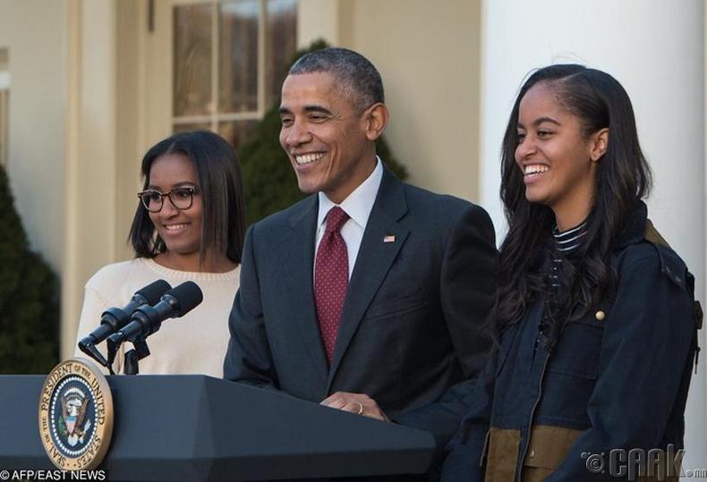 Наташа болон Малиа Обама (Natasha, Malia Obama)