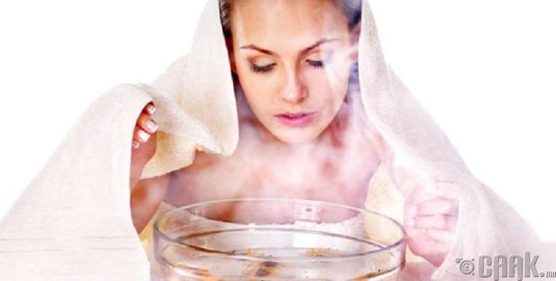 Нүүрний утлага болон халуун жин тавих