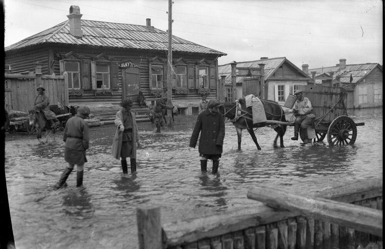 Улаанбаатарт үер буусан нь, 1930-аад он