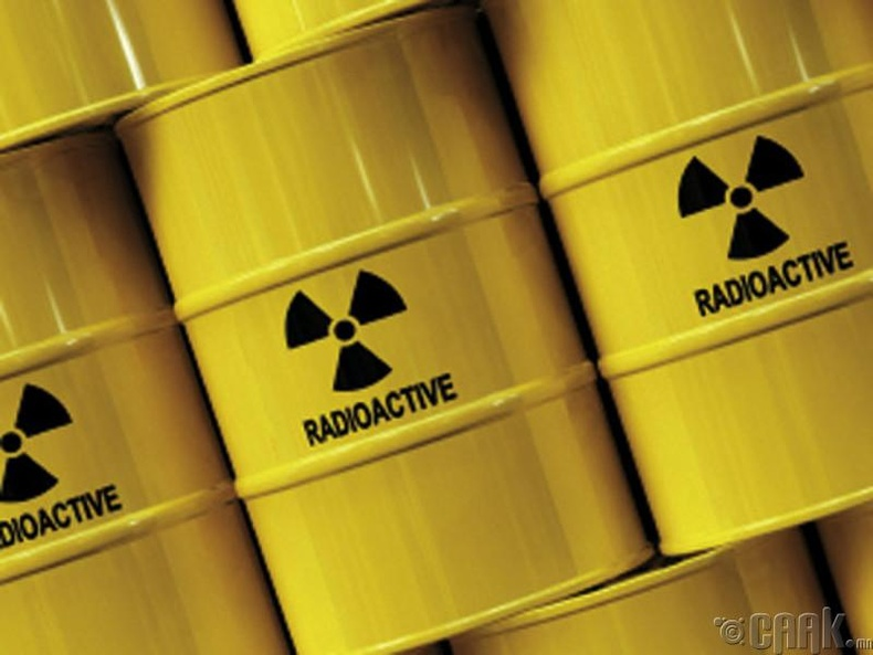 Цөмийн хог хаягдал