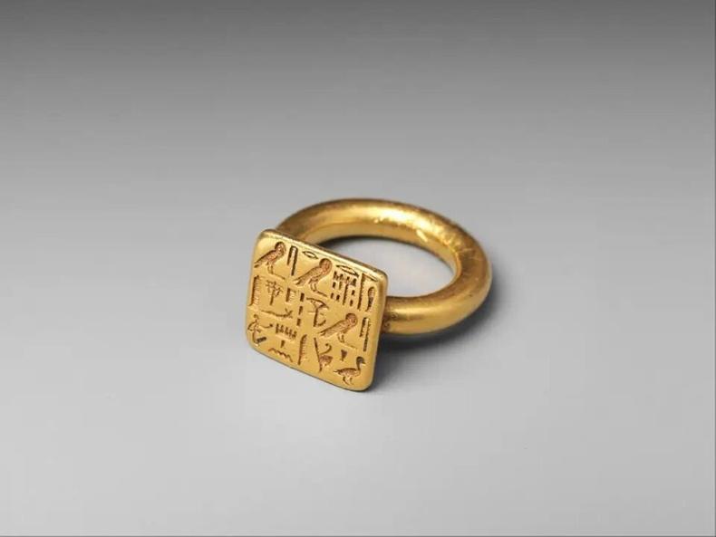 Сиенамун санваартны алтан бөгж (Египетийн 26-р хаант улс, МЭӨ 664-526)