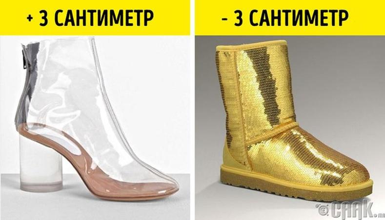 Өнгөгүй туфль