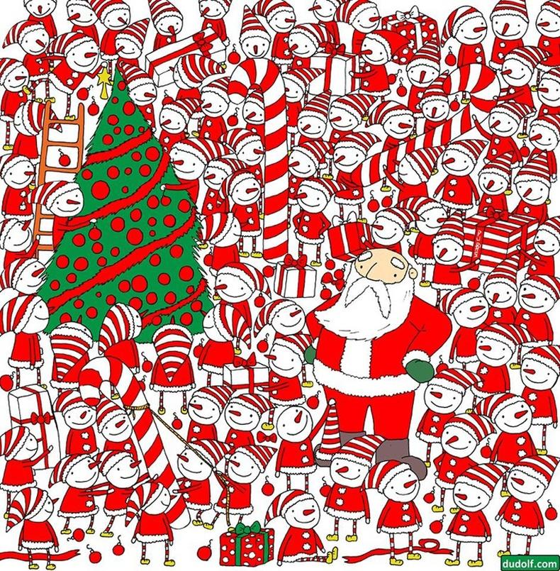 Сантагийн малгайг олоорой