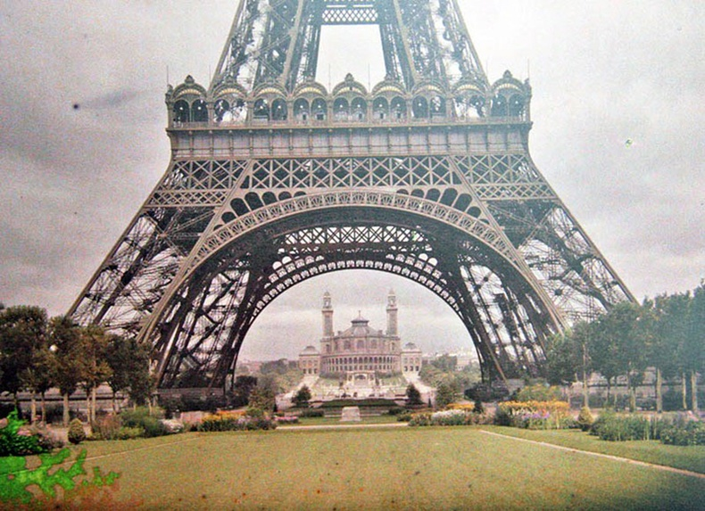 100 жилийн өмнөх Парис ямар байсан бэ?