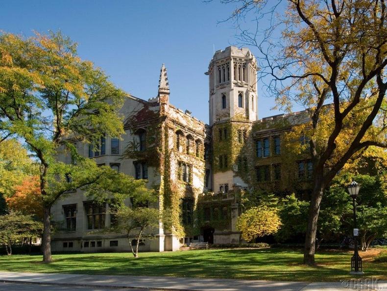 Чикагогийн их сургууль, АНУ  (87.9)