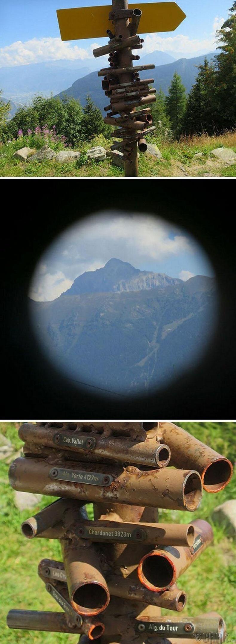 Труба бүр танд Швейцарийн уулсын хамгийн үзэсгэлэнтэй хэсгүүдийг харуулна