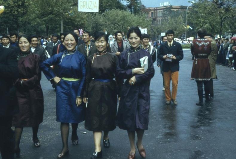 Монголын төлөөлөгчид - Берлин хот, 1972 он.