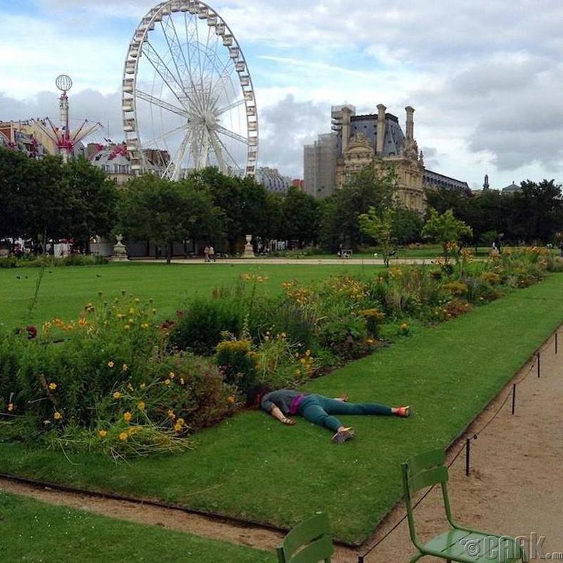 Тьюлеригийн цэцэрлэгт хүрээлэн, Парис